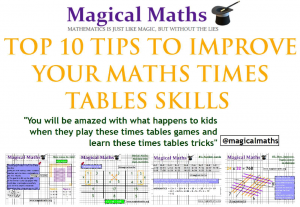 Top 10 Tips to Improve your Times Tables Skills