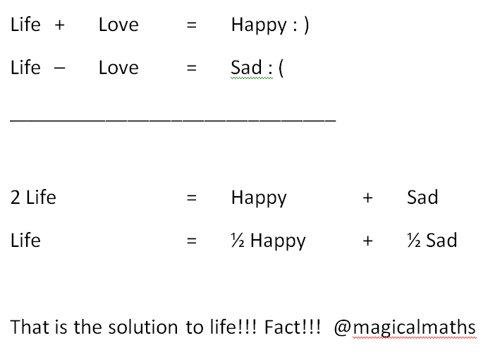 The-simultaneous-equation-of-life