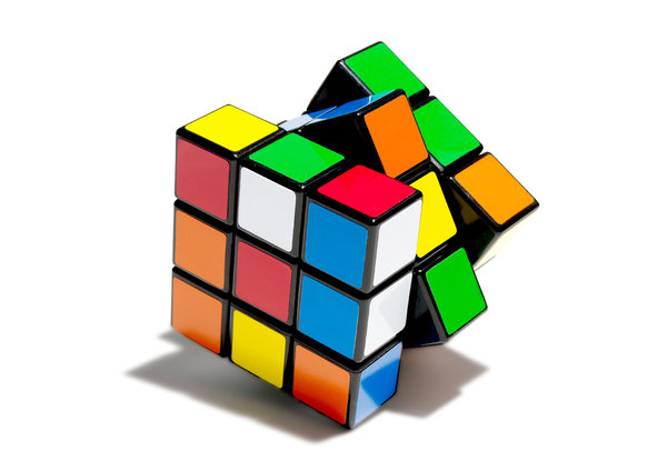 Mathematics student solves rubik's cube while juggling, Awesome!