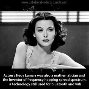 Famous Female Mathematicians hedy Lamarr