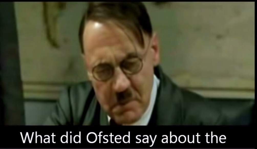 [VIDEO] Hitler reacts to the news of an Ofsted inspection, you will cry with laughter!