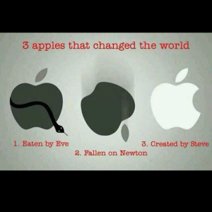 3 three apples that changed the world