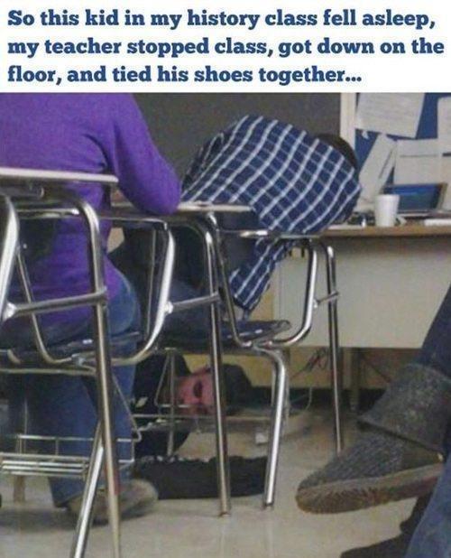 When teachers get last laugh 6