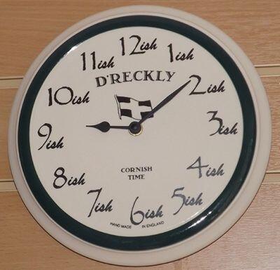 maths wall clock 8