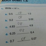 Funny Maths Exam Answers #1