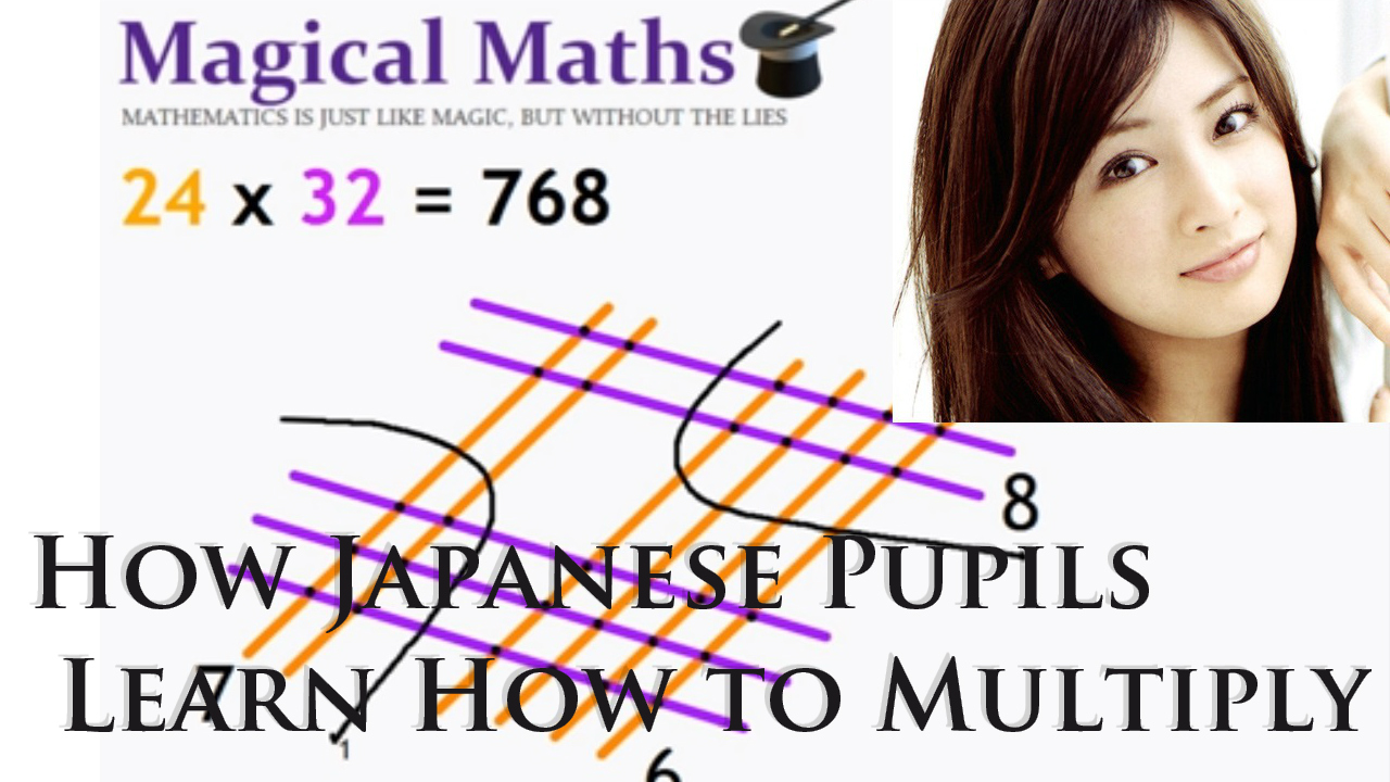 How Japanese Kids Learn To Multiply – Amazing, No Need to Learn Japanese :: UPDATED ::