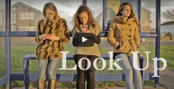 Look Up! Another great piece of performance poetry with a hidden message for your pupils!