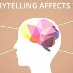 How does story telling affect the brain