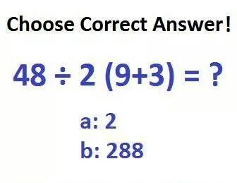 Let's see how Intelligent you are? A classic BIDMAS question! >> Intelligence Test #69