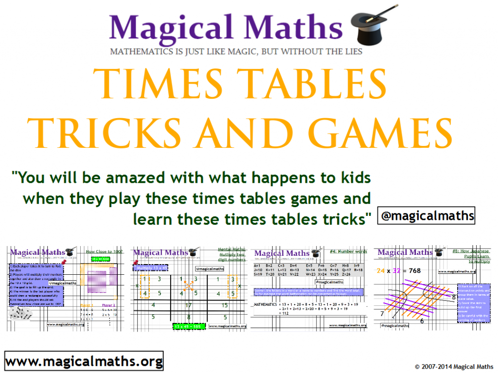 Times Tables Tricks Cheats And Games Ebook