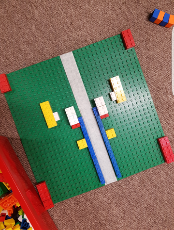 Symmetrical lego boards