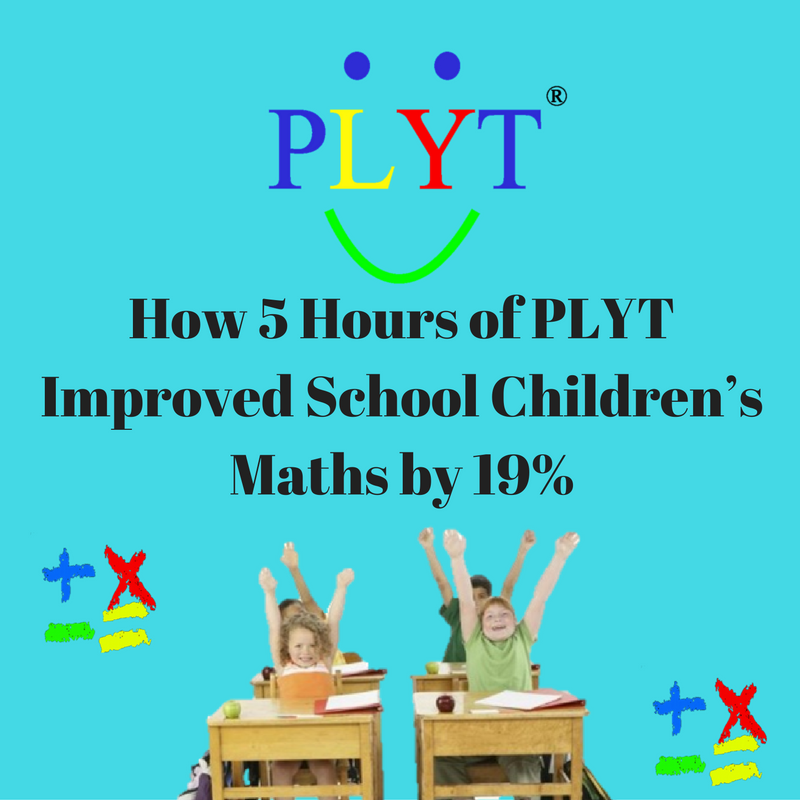 Can this really be true? 5 Hours of PLYT improved children's maths by 19%!
