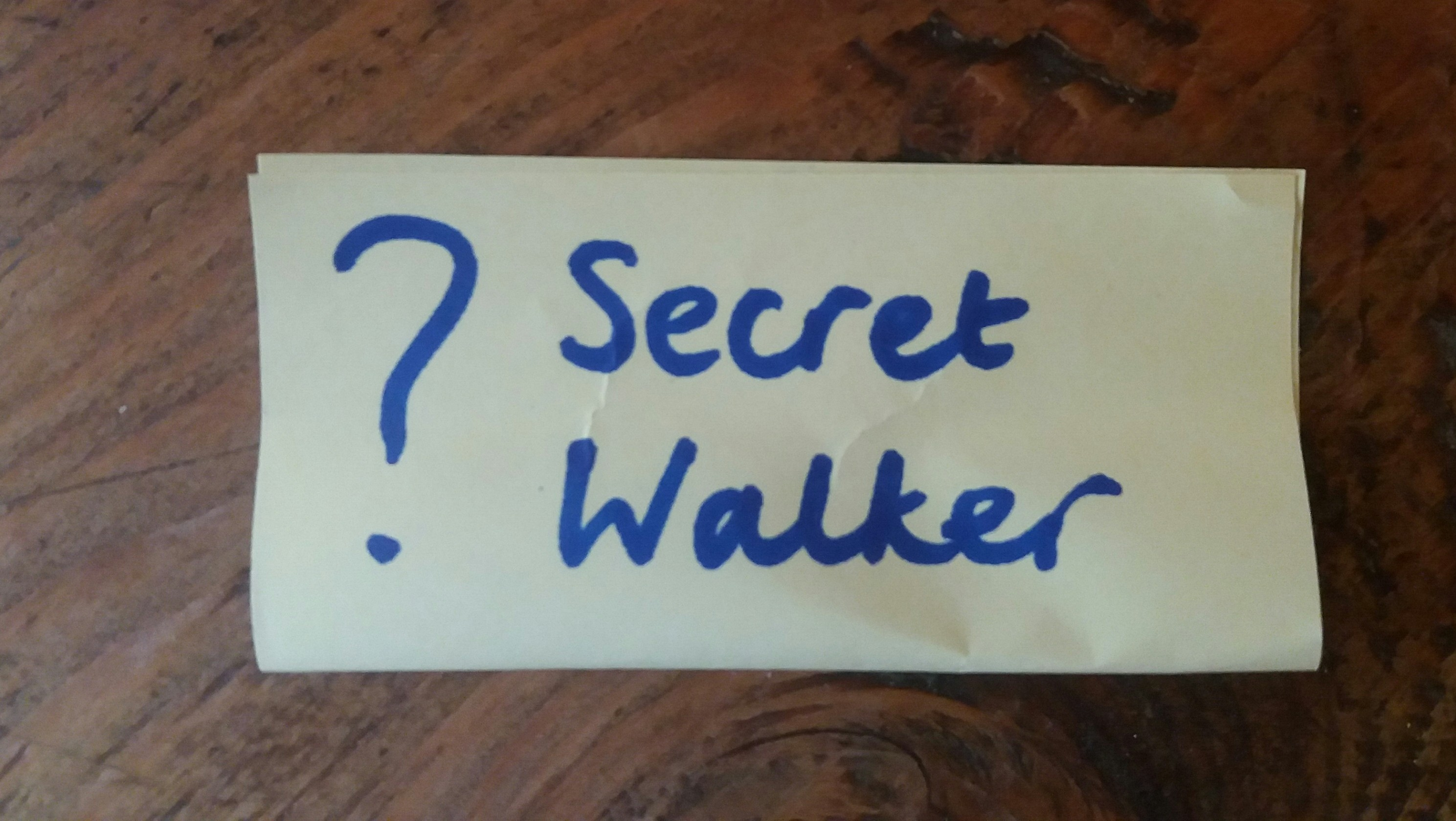 Who is the Secret Walker in your classroom?